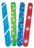 Abella Pilník šmirgľový farebný rôzne farby 1 kus EMP-5