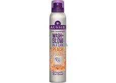 Aussie Wash + Blow Peach Fusion suchý šampon 180 ml