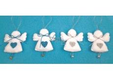 Andělé plyšoví 6 cm, 4 ks v sáčku
