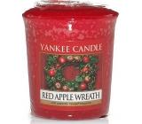 Yankee Candle Red Apple Wreath - Veniec z červených jabĺčok vonná sviečka votívny 49 g