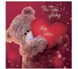 Me to You Prianie do obálky V Medvedík so srdcom