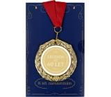 Albi Papírové přání do obálky Přání s medailí - 60 let W