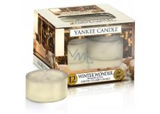 Yankee Candle Winter Wonder - Zimní zázrak vonná čajová svíčka 9,8 g 12 kusů