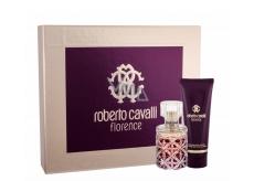 Roberto Cavalli Florence parfémovaná voda pro ženy 50 ml + tělové mléko 75 ml, dárková sada