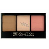 Makeup Revolution Ultra Sculpt & Contour Kit rozjasňující konturovací sada C01 11 g
