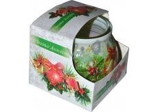 Admit Christmas Decorations aromatická sviečka v skle 80 g