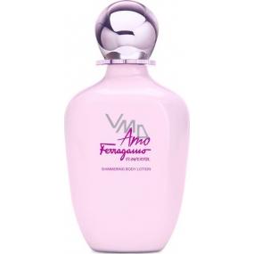 Salvatore Ferragamo Amo Ferragamo Flowerful telové mlieko pre ženy 200 ml