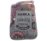 Albi Skladacia taška na zips do kabelky s menom Hanka 42 x 41 x 11 cm