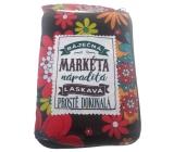 Albi Skladacia taška na zips do kabelky s menom Markéta 42 x 41 x 11 cm