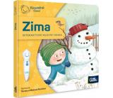 Albi Kúzelné čítanie interaktívne minikniha Zima pre deti od 2 rokov
