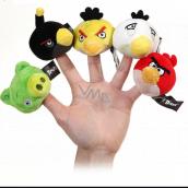 Angry Birds plyšová násadka na ceruzku 5 cm, viac druhov