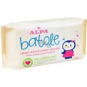 Alpa Batoľa vlhčené toaletné obrúsky s aloe vera pre deti 72 kusov