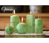 Lima Mramor Opium vonná svíčka zelená koule 60 mm 1 kus