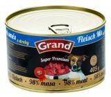 Grand Super Premium Masová směs pro psy 98% masa 405 g