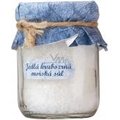Bohemia Gifts & Cosmetics Jedlá hrubozrná morská soľ 60 g