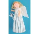Anjel v sukni na postavení 20 cm č.3
