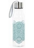 Albi Cestovní láhev Květy v kruzích 650 ml