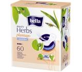 Bella Herbs Plantago Sensitive hygienické aromatizované slipové vložky 60 kusov + odličovacie tampóny 30 kusov zadarmo