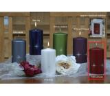 Lima Zirkón sviečka vínová valec 80 x 150 mm 1 kus