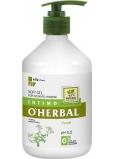 O Herbal Fresh Rebríček obyčajný jemný gél na intímnu hygienu 500 ml