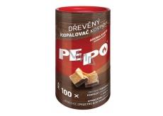 Pe-Po Podpalovač dřevěné kostičky 100 kusů