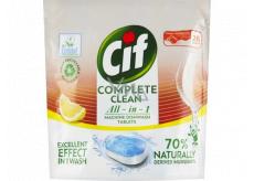 Cif All in 1 Lemon tablety do umývačky riadu 26 kusov