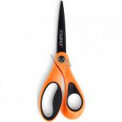 Dahle Color ID nožnice asymetrické oranžové 21 cm