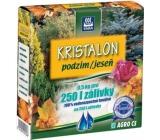 Agro Kristalon Jeseň vodorozpustnej univerzálne hnojivo 0,5 kg pre 250 l zálievky