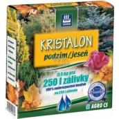 Agro Kristalon Podzim vodorozpustné univerzální hnojivo 0,5 kg pro 250 l zálivky
