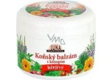Luna Natural Konský balzam s kanabisom hrejivý 300 ml