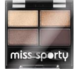Miss Sporty Studio Colour Quattro oční stíny 403 Smoky Brown Eyes 3,2 g