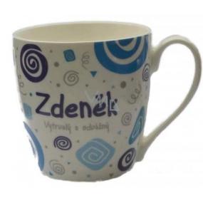 Nekupto Twister hrnek se jménem Zdeněk modrý 0,4 litru