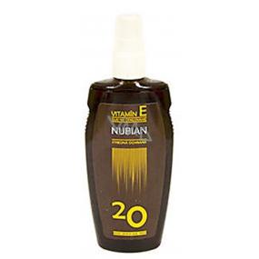 Nubian F20 vitamín E Olej na opaľovanie 150 ml