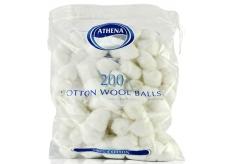 Athena Beauté vatové chumáčiky biele 200 kusov