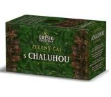 Grešík Zelený čaj s chaluhou nálevové sáčky 20x1,5g Navozuje pocit sytosti