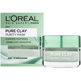 Loreal Paris Pure Clay Purity Mask čistiaca pleťová maska 50 ml