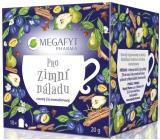 Megafyt Pharma Pre zimné náladu ovocný čaj aromatizovaný, porciovaný, so škoricou, klinčekmi, hruškou, pomarančom a slivkou 20 x 2 g