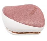 Tangle Teezer Compact Profesionálna kompaktná kefa na vlasy, Rose zlaté Glaze