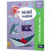 Albi Benjamín Hravé tvorenie Pirátske origami s hrou odporúčaný vek 5+