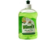 Winnis Piatti Lime Ekologický koncentrovaný hypoalergénne umývací prostriedok na riad 500 ml
