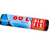 Alufix Economy Sáčky do odpadkového koša čiernej, 13 μ, 60 litrov, 60 x 71 cm, 20 kusov