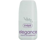 Ziaja Elegance Creamy guľôčkový antiperspirant dezodorant krémový roll-on pre ženy 60 ml