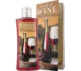 Bohemia Book of Wine vinný sprchový gel v krabičce 250 ml