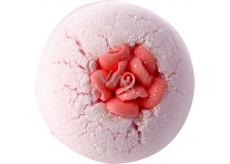 Bomb Cosmetics Růžová slečinka Šumivý balistik do koupele 160 g