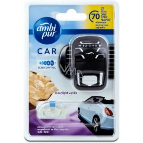 Ambi Pur Car Moonlight Vanilla kompletný strojček 7 ml
