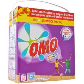Omo Color prášok na pranie, farebné prádlo 50 dávok 3,5 kg