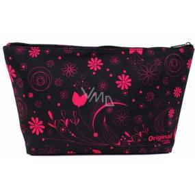 Albi Original Cestovná kozmetická taška Ružové kvety 33 x 19 x 8 cm