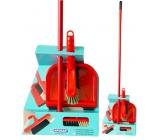 Spokar Eko Set smeták s holí 120 cm + smetáček s lopatkou