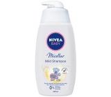 Nivea Baby Micelární jemný šampon na vlasy dávkovač 500 ml