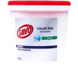 Savo Chlor Šok šoková dezinfekce proti řasám do bazénu 5 kg